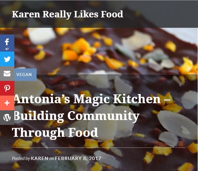 Karen Really Likes Food