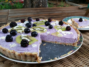 Blueberry-tart