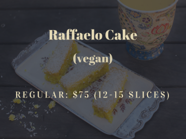 Raffaelo-cake