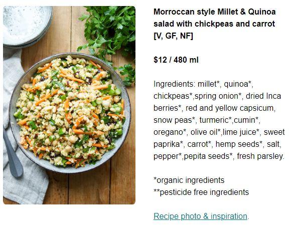 Morroccan Millet and Quinoa Salad